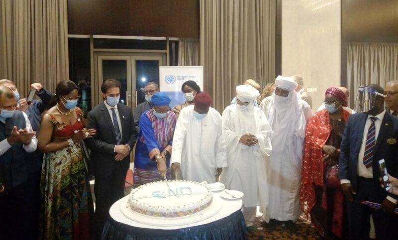 à l'occasion des 75 ans de l'ONU, le Niger et le Système des Nations Unies réaffirment leur volonté commune d'agir pour un monde meilleur